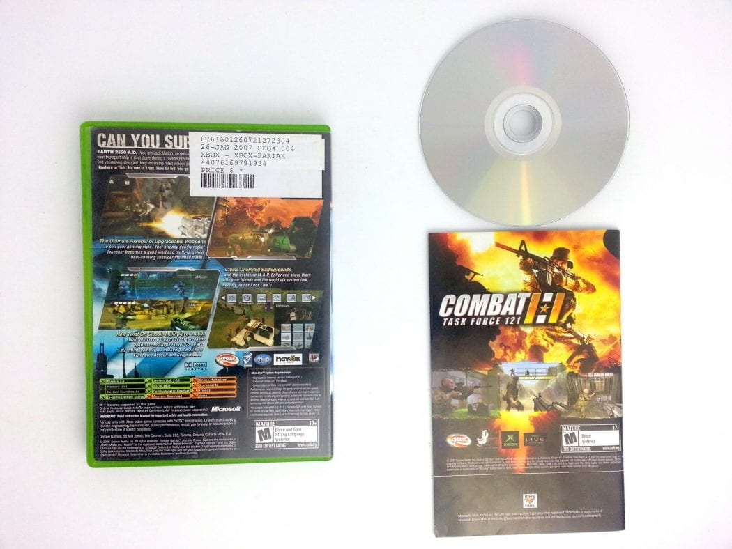 Pariah game for Xbox (Complete) | The Game Guy
