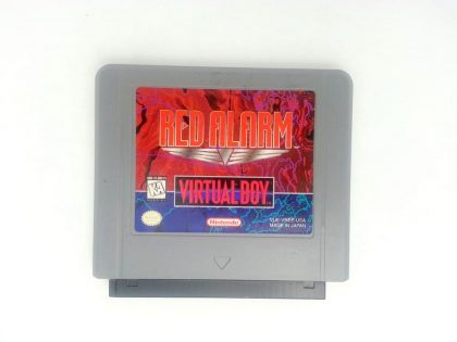 Red Alarm game for Nintendo Virtual Boy - Loose