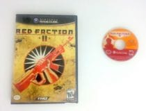 Red Faction II game for Nintendo Gamecube -Game & Case