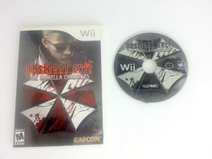 Resident Evil The Umbrella Chronicles game for Nintendo Wii -Game & Case