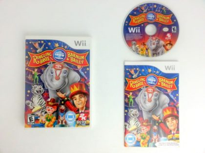 Ringling Bros. and Barnum & Bailey Circus game for Nintendo Wii -Complete