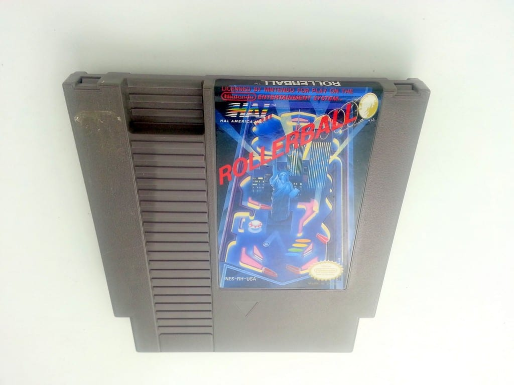 Rollerball game for Nintendo NES - Loose