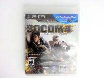 SOCOM 4: US Navy SEALs game for Sony Playstation 3 PS3 -Complete