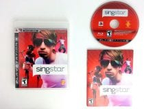 SingStar game for Sony Playstation 3 PS3 -Complete