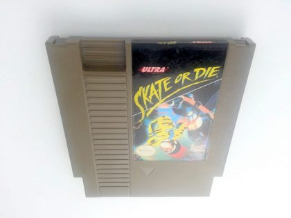 Skate or Die game for Nintendo NES - Loose