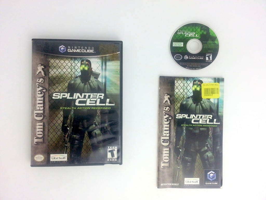 Splinter Cell game for Nintendo Gamecube -Complete