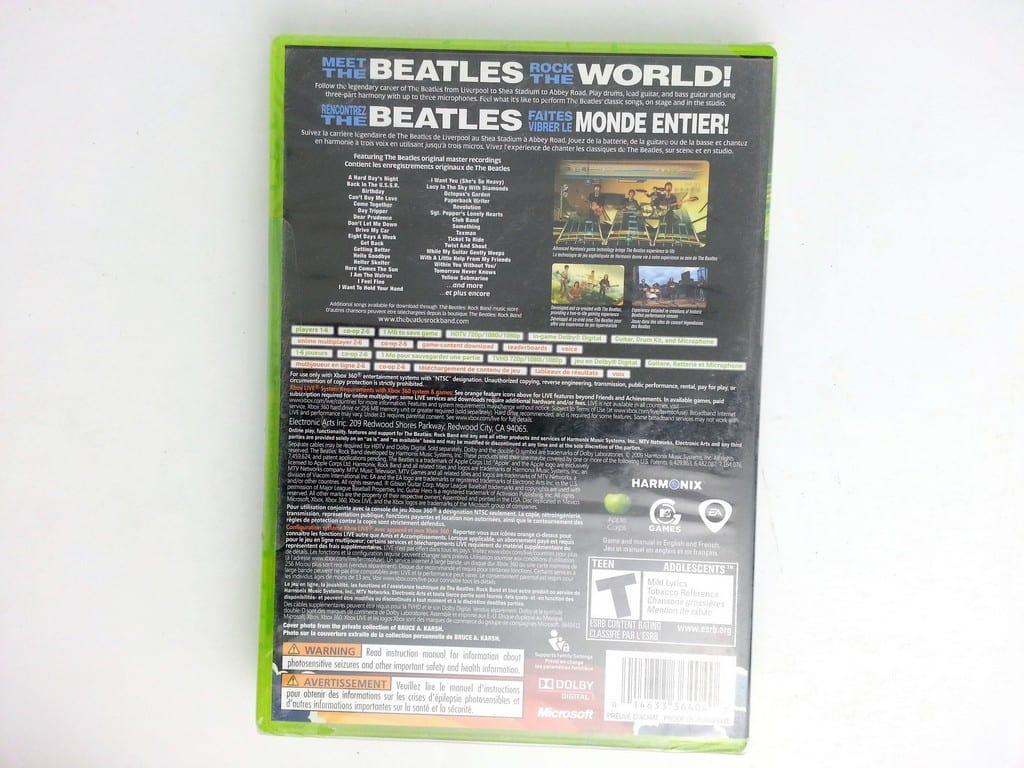 The Beatles: Rock Band game for Xbox 360 (Complete) | The Game Guy