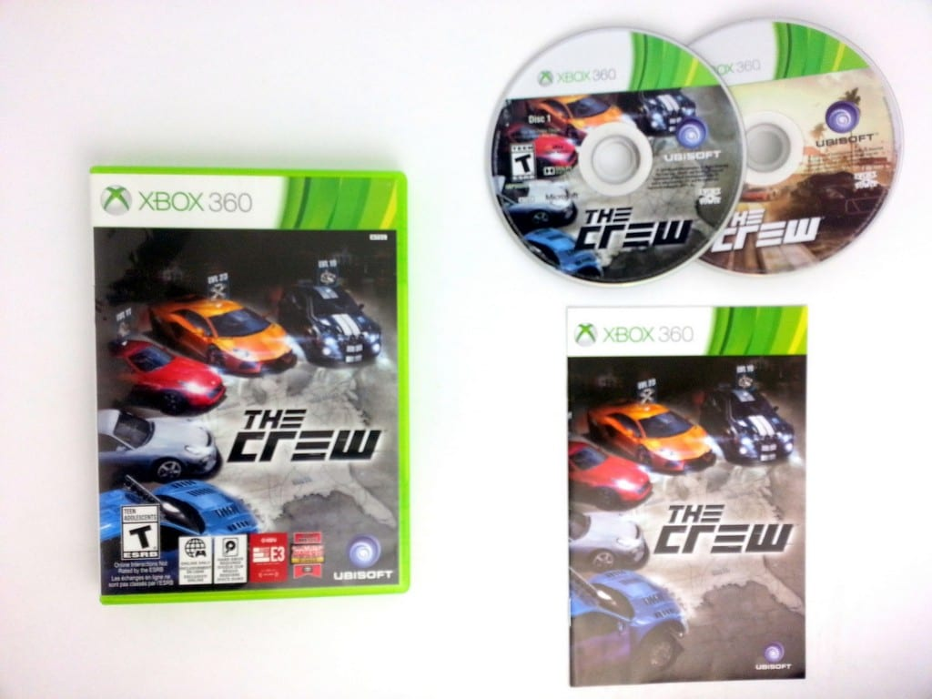 The Crew game for Microsoft Xbox 360 -Complete