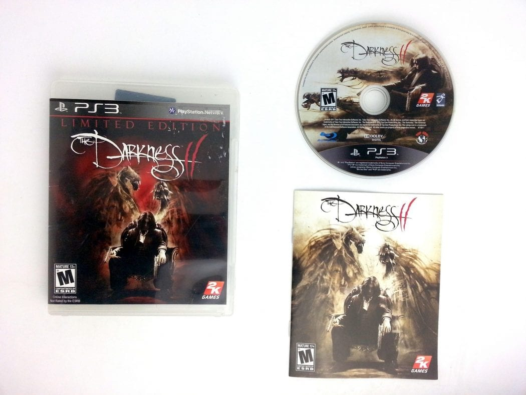 The Darkness II game for Sony Playstation 3 PS3 -Complete