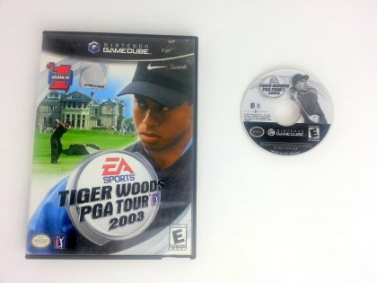 Tiger Woods 2003 game for Nintendo Gamecube -Game & Case