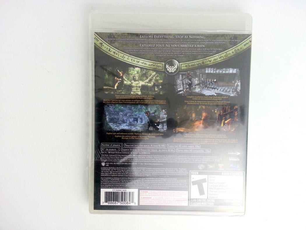 Tomb Raider Underworld game for Playstation 3 (Complete)   The Game Guy