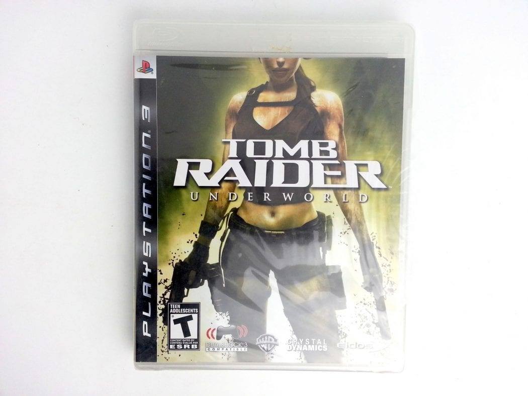 Tomb Raider Underworld game for Sony Playstation 3 PS3 -Complete