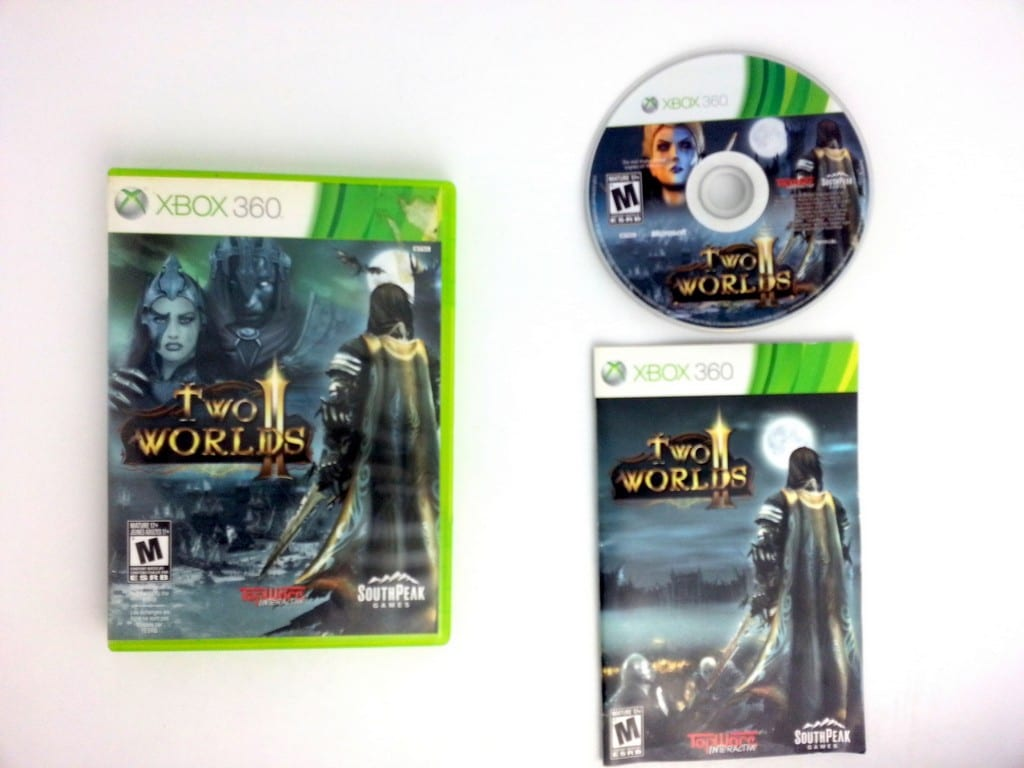 Two Worlds game for Microsoft Xbox 360 -Complete