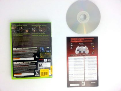 Vampire Rain game for Xbox 360 (Complete) | The Game Guy