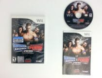 WWE SmackDown vs. Raw 2010 game for Nintendo Wii -Complete