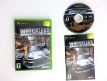 Wreckless Yakuza Missions game for Microsoft Xbox -Complete