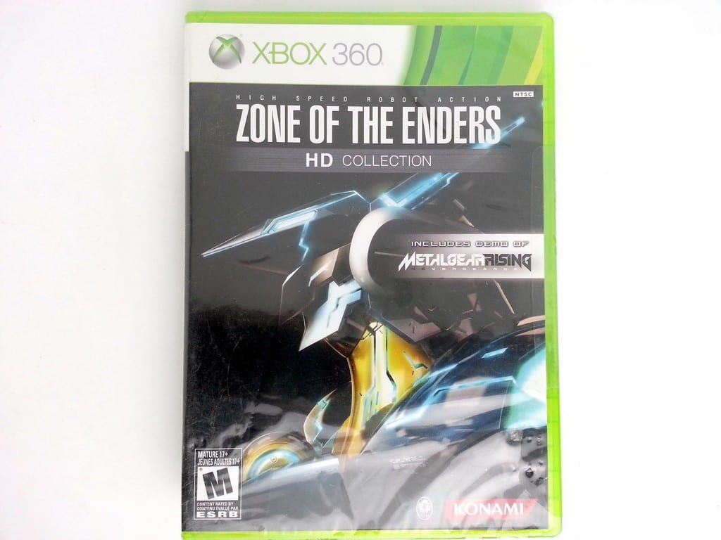 Zone of the Enders HD Collection game for Microsoft Xbox 360 - New