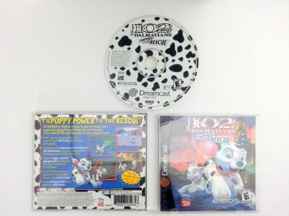 102 Dalmatians Puppies to the Rescue game for Sega Dreamcast -Complete