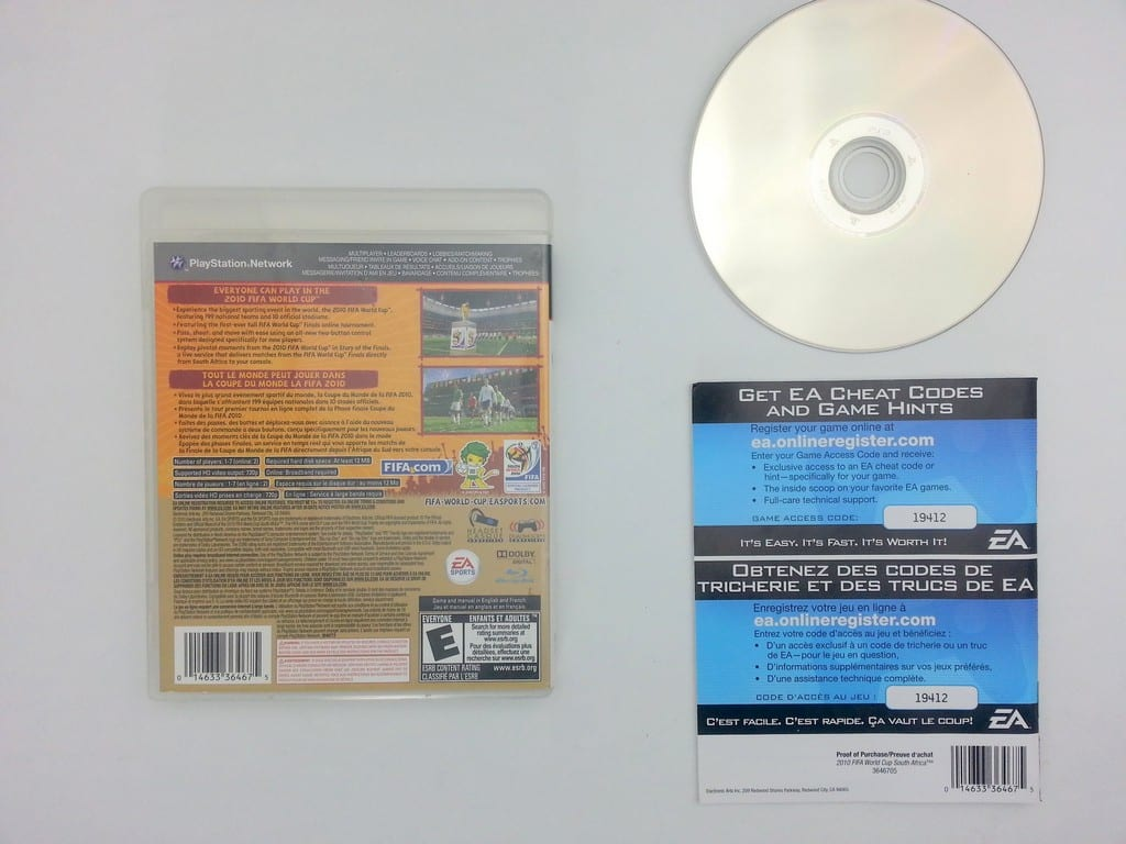2010 FIFA World Cup game for Playstation 3 (Complete) | The Game Guy