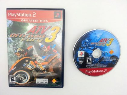 ATV Offroad Fury 3 game for Sony Playstation 2 PS2 -Game & Case