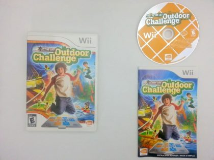 Active Life Outdoor Challenge game for Nintendo Wii -Complete