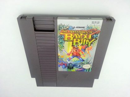 Adventures of Bayou Billy game for Nintendo NES - Loose