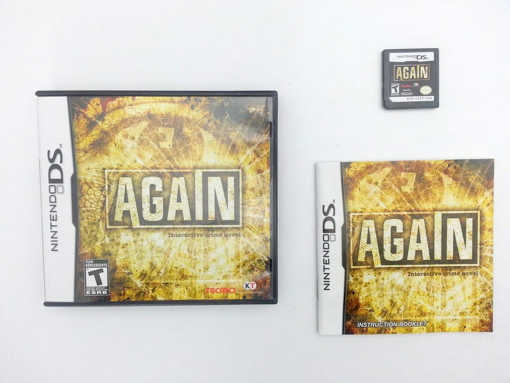 Again game for Nintendo DS -Complete