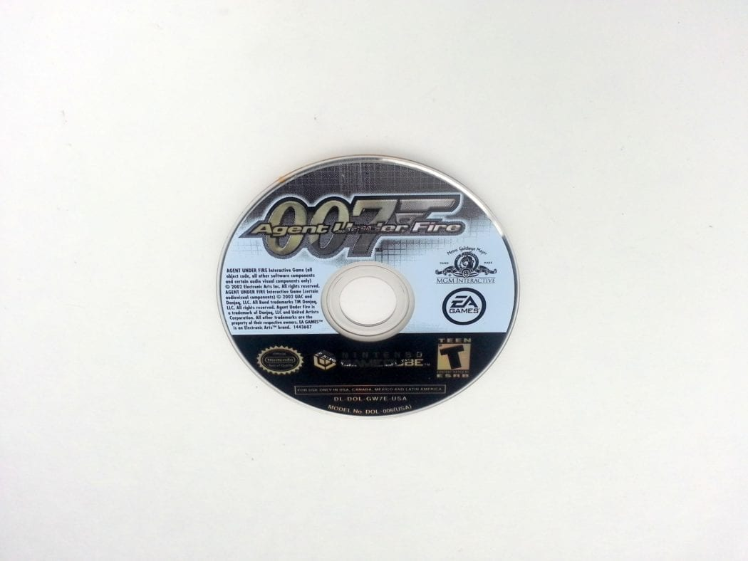 Agent Under Fire game for Nintendo Gamecube - Loose