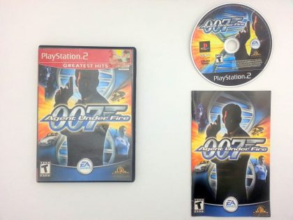 Agent Under Fire game for Sony Playstation 2 PS2 -Complete