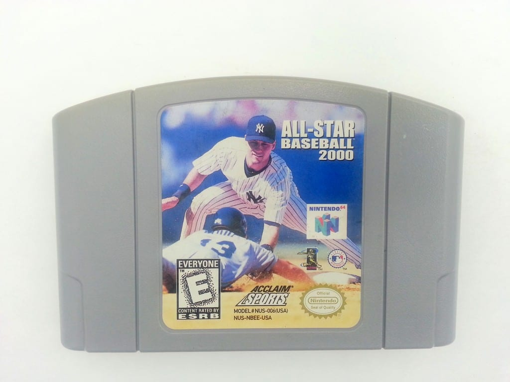 All-Star Baseball 2000 game for Nintendo 64 N64 - Loose