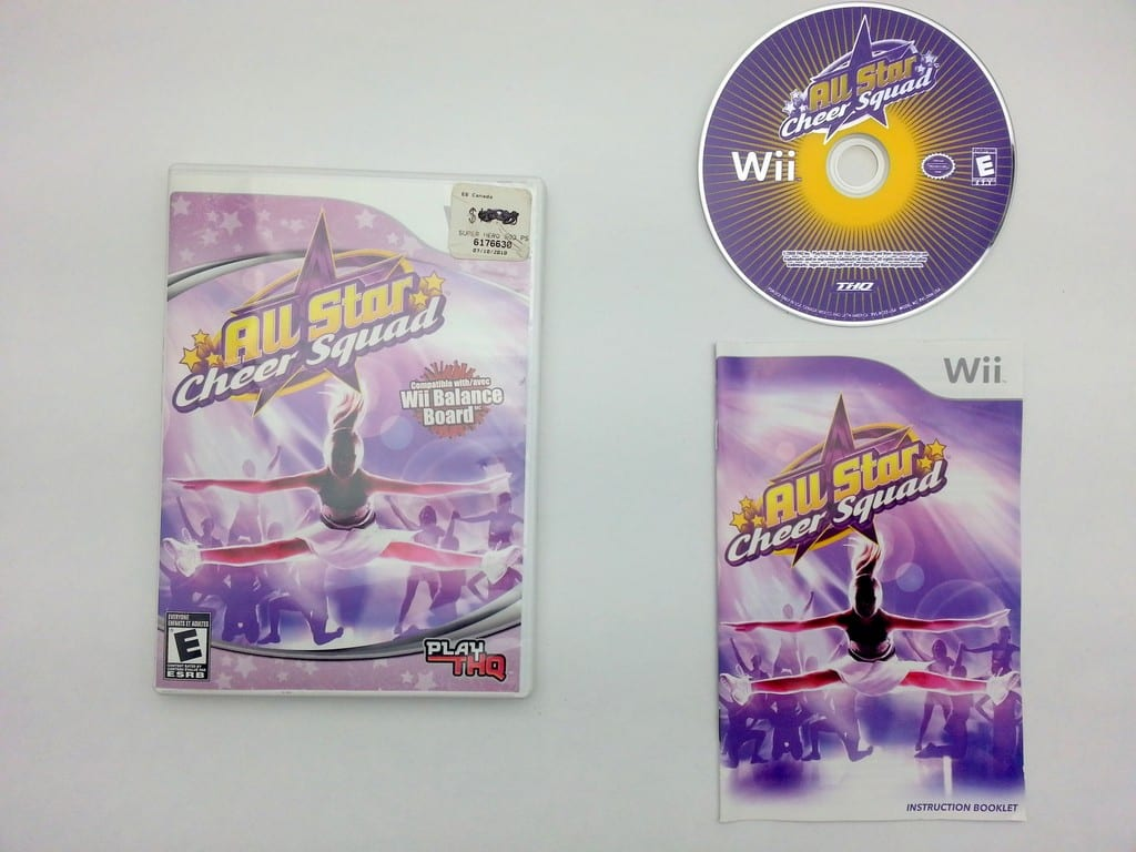 All-Star Cheer Squad game for Nintendo Wii -Complete