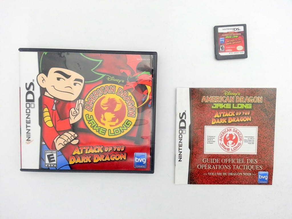 American Dragon Jake Long Attack of the Dark Dragon game for DS Complete