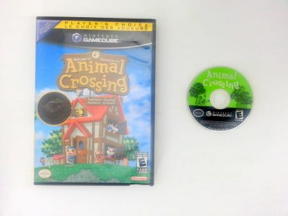 Animal Crossing game for Nintendo Gamecube -Game & Case