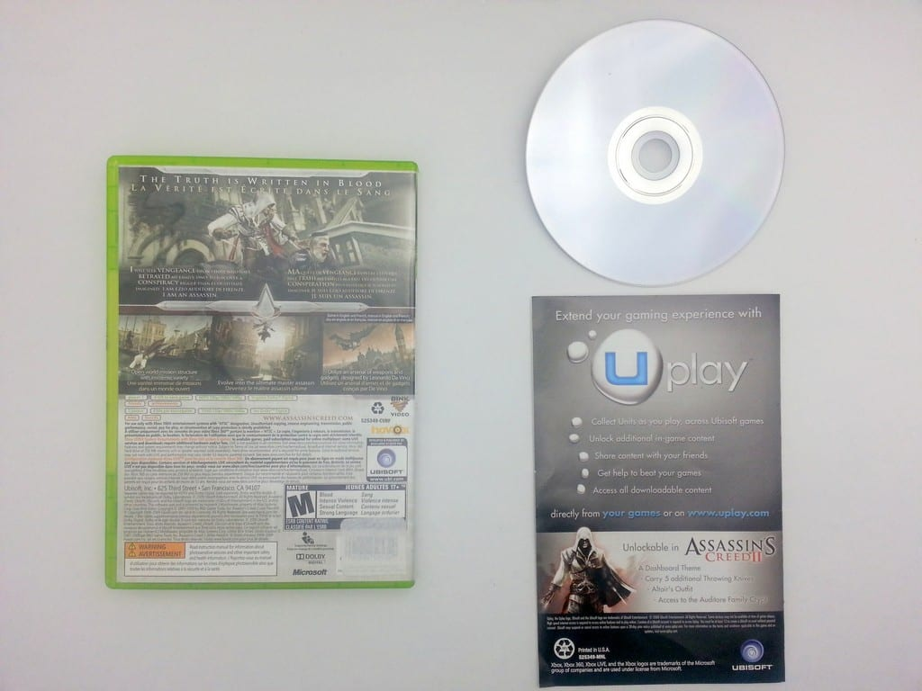 Assassin's Creed II game for Xbox 360 (Complete) | The Game Guy