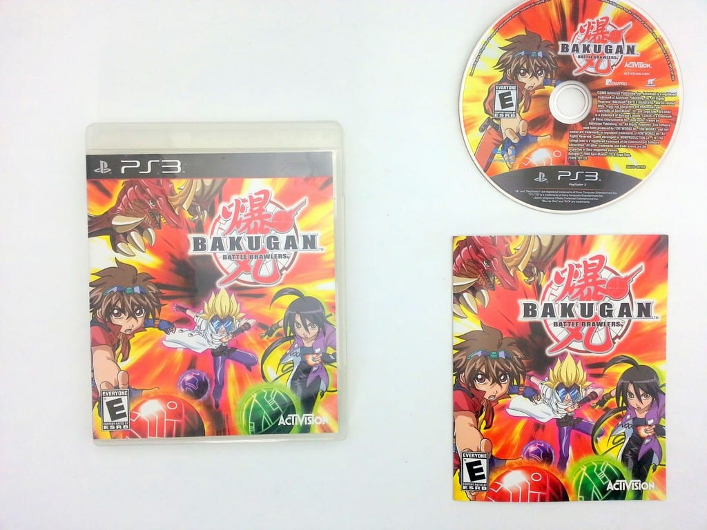 Bakugan Battle Brawlers game for Sony Playstation 3 PS3 -Complete