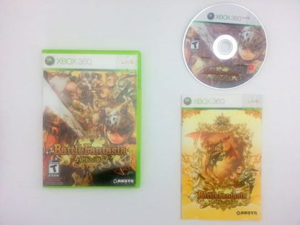 Battle Fantasia game for Microsoft Xbox 360 -Complete