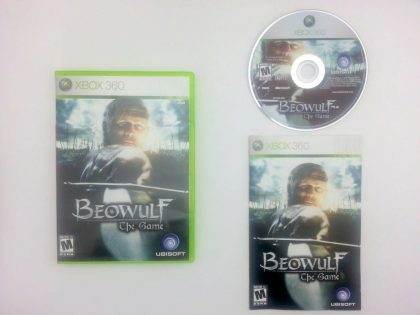 Beowulf The Game game for Microsoft Xbox 360 -Complete