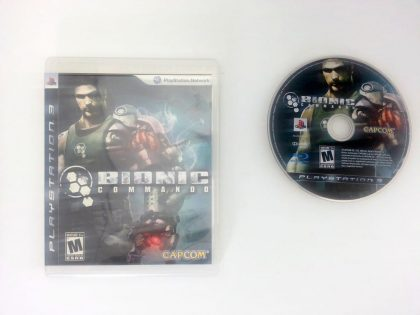 Bionic Commando game for Sony Playstation 3 PS3 -Game & Case