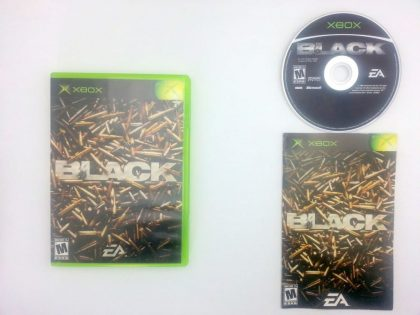Black game for Microsoft Xbox -Complete