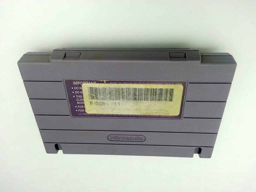 Populous game for Super Nintendo SNES - Loose