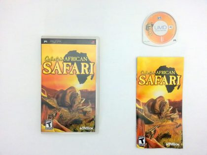 Cabela's African Safari game for Sony PSP -Complete