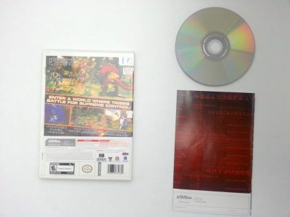 Chaotic: Shadow Warriors game for Nintendo DS (Complete)   The Game Guy