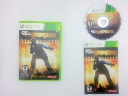 Def Jam Rapstar game for Microsoft Xbox 360 -Complete
