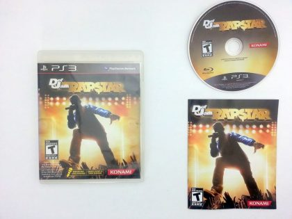 Def Jam Rapstar game for Sony Playstation 3 PS3 -Complete
