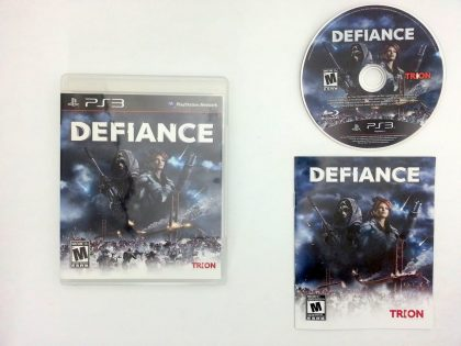 Defiance game for Sony Playstation 3 PS3 -Complete