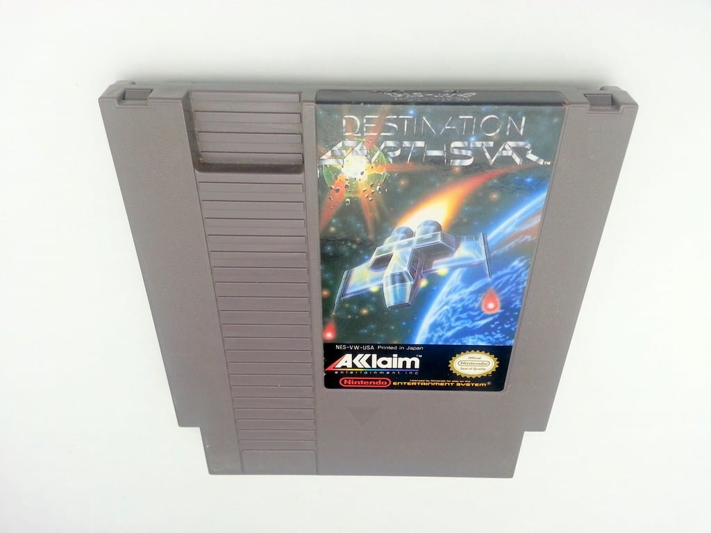 Destination Earthstar game for Nintendo NES - Loose
