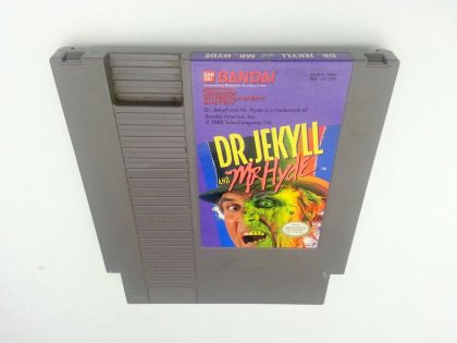 Dr Jekyll and Mr Hyde game for Nintendo NES - Loose