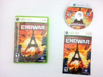 End War game for Microsoft Xbox 360 -Complete