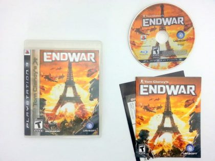 End War game for Sony Playstation 3 PS3 -Complete