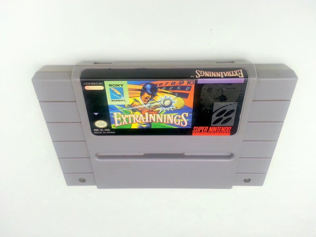 Extra Innings game for Super Nintendo SNES - Loose
